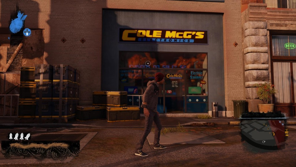 Delsin gets his electronics from Cole McG's!