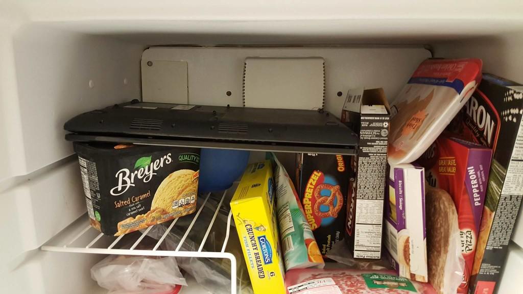Laptop in Freezer